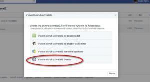 Facebook - web