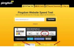 Page Speed: Pingdom