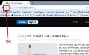 Kontrola https: Firefox