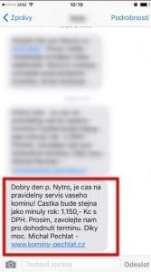 SMSka s personalizací