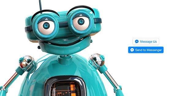 robot messenger v Facebook Messenger Bot: Open-rate 80% a CTR více než 50%