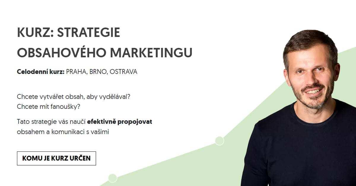 Kurz obsahový marketing